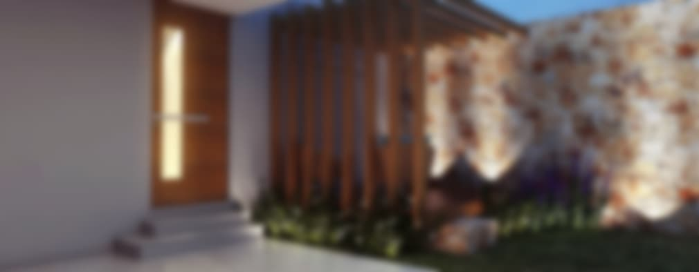 Casas de estilo moderno por canatelli arquitetura e design