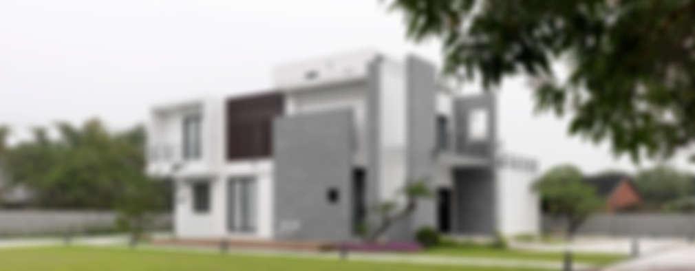Projekty, nowoczesne Domy zaprojektowane przez 夏沐森山設計整合