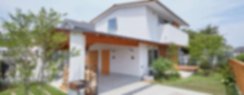 scandinavian Houses by 一級建築士事務所co-designstudio