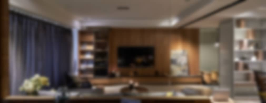 modern Study/office by DYD INTERIOR大漾帝國際室內裝修有限公司