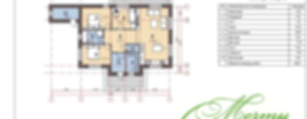 Casas de estilo clásico por Компания архитекторов Латышевых 'Мечты сбываются'