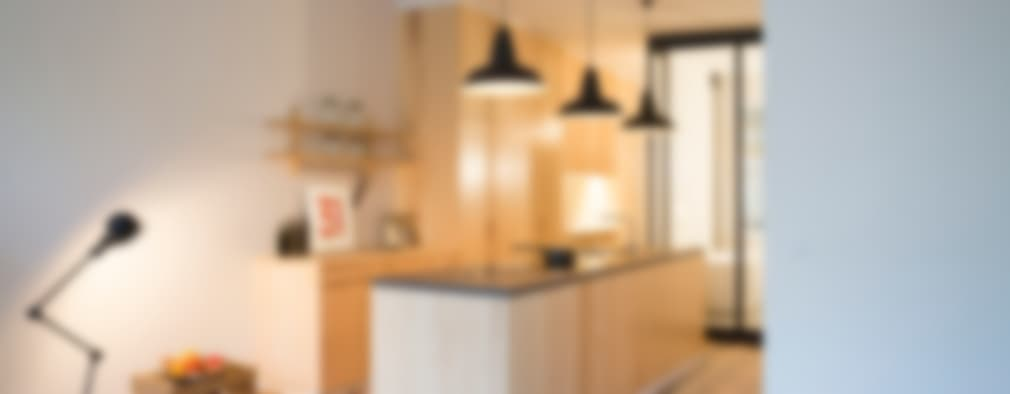 industrial Kitchen by MELANIE LALLEMAND ARCHITECTURES