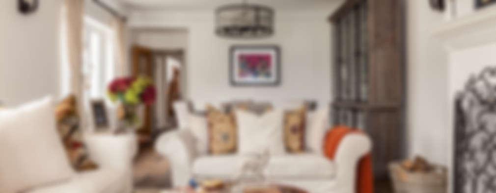 غرفة المعيشة تنفيذ The White House Interiors