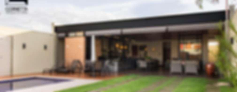 Casas de estilo moderno por Cornetta Arquitetura