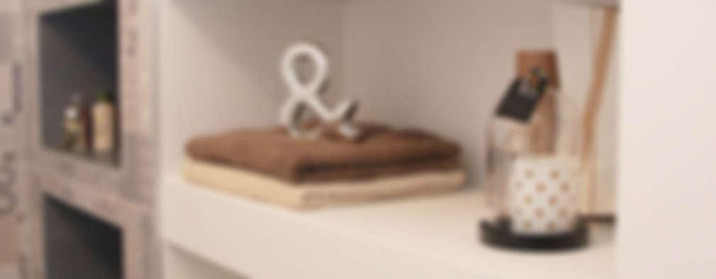 Appartement contemporain à Vienne: Salle de bains de style  par Koya Architecture Intérieure