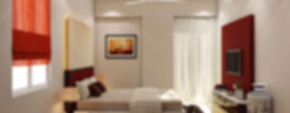 Cuartos de estilo minimalista por P.S DESIGNS