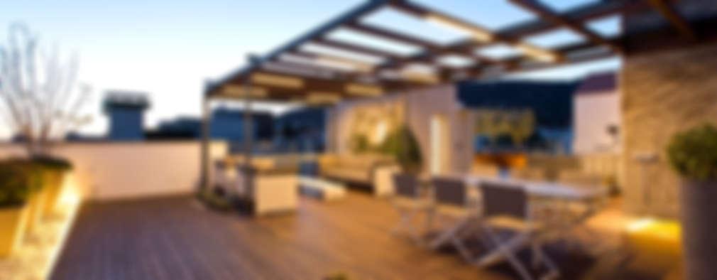 Roof terrace designs 20 lovely examples - Conillas garden center ...