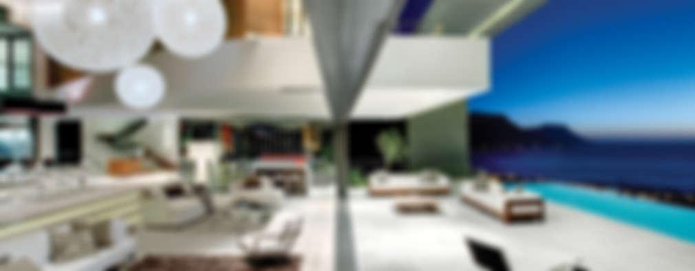 우아한 디자인 영감을 주는 해변의 럭셔리 하우스