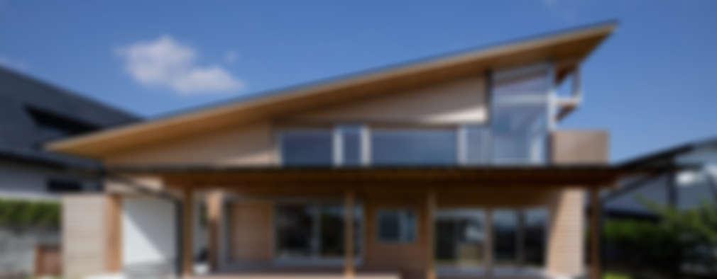 asian Houses by ろく設計室