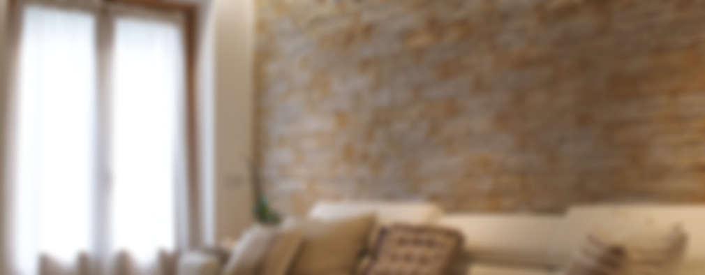 Salas / recibidores de estilo moderno por GRITTI ROLLO | Stefano Gritti e Sofia Rollo