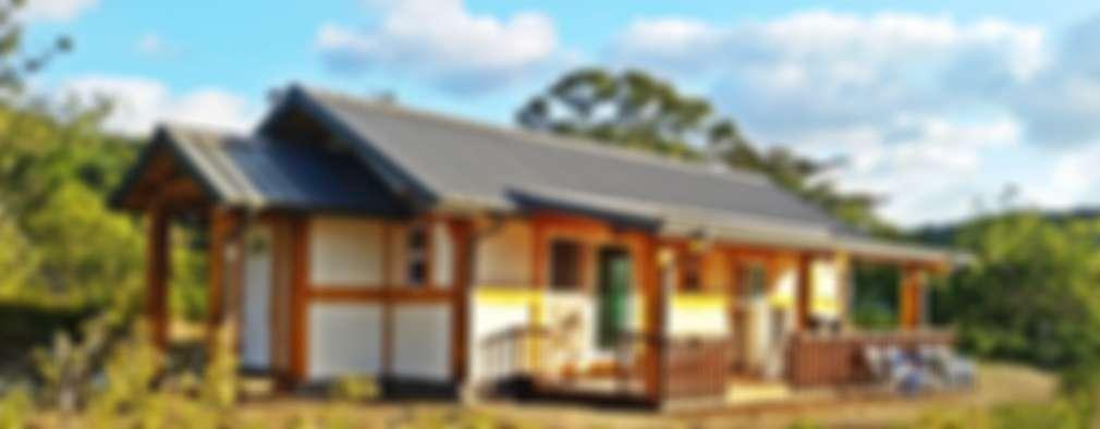 Casa pequeña de madera (+ planos)