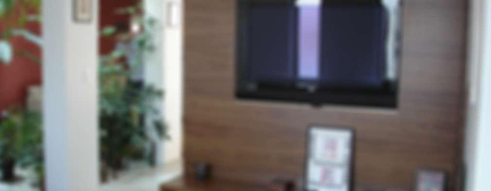modern Living room by Mina Arquitetura & Construções