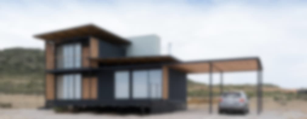 Casas de estilo moderno por H&O Arquitectos