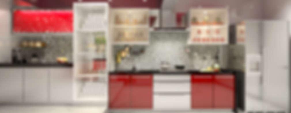 Lively Kitchen: classic Kitchen by AAMRAPALI BHOGLE