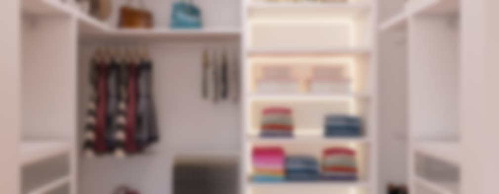 modern Dressing room by Caio Pelisson - Arquitetura e Design