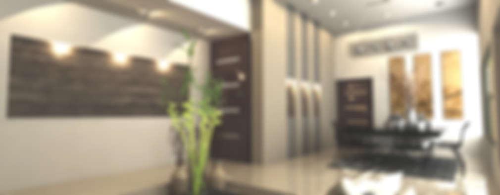SALA COMEDOR: Comedores de estilo moderno por OLLIN ARQUITECTURA