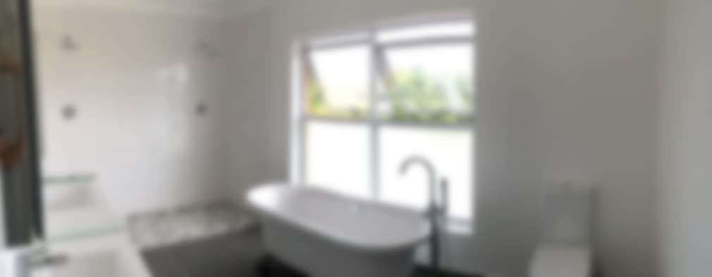 modern Bathroom by Cornerstone Projects