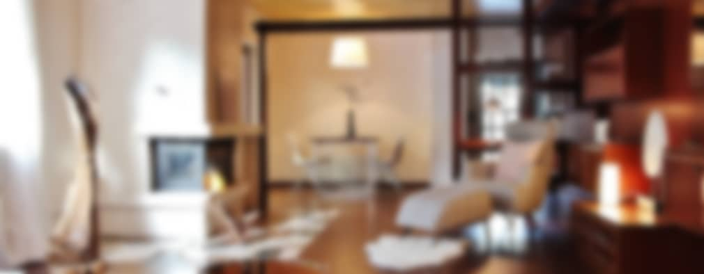 غرفة المعيشة تنفيذ Nicole Schütz Home Staging