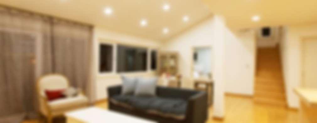 Livings de estilo moderno por 친친디 하우스 프로젝트