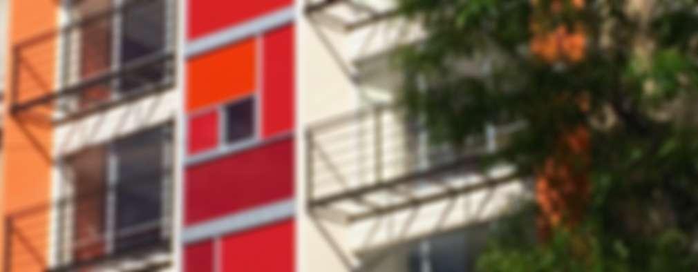 Casas de estilo moderno por simon&diseño