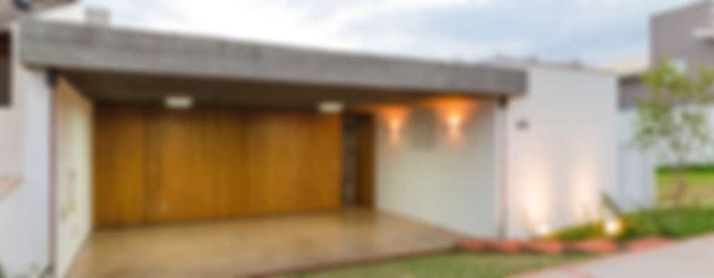 Casas de estilo moderno por Diego Alcântara  - Studio A108 Arquitetura e Urbanismo