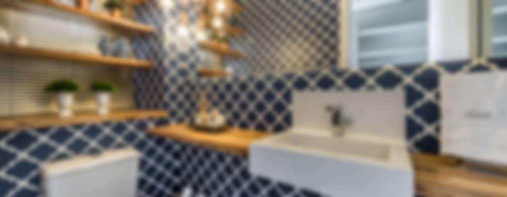 modern Bathroom by Treez Arquitetura+Engenharia