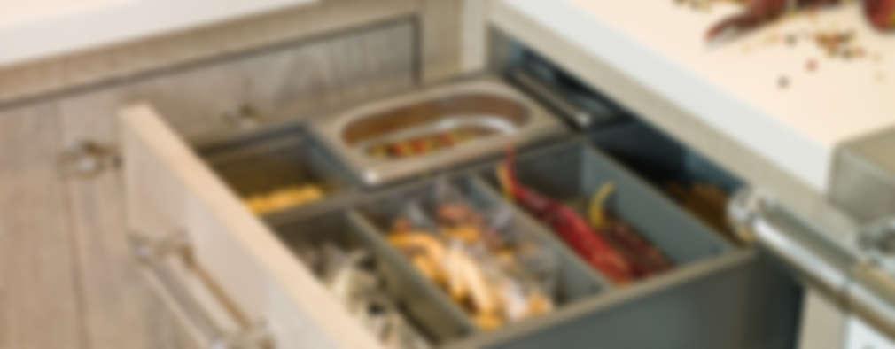 Projekty,  Kuchnia zaprojektowane przez DEULONDER arquitectura domestica