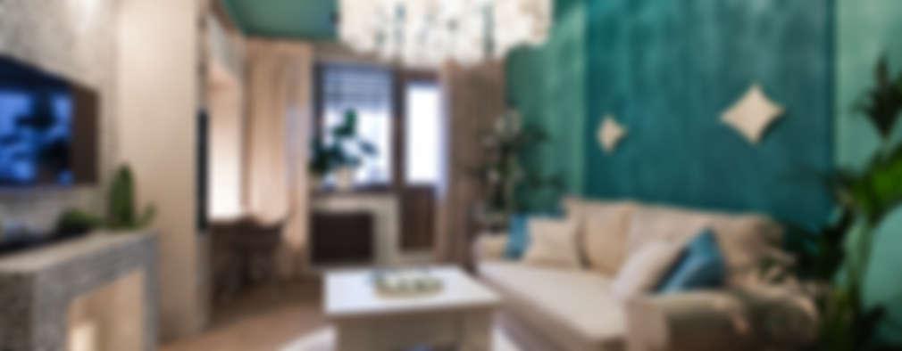 Salas / recibidores de estilo topical por Artcrafts