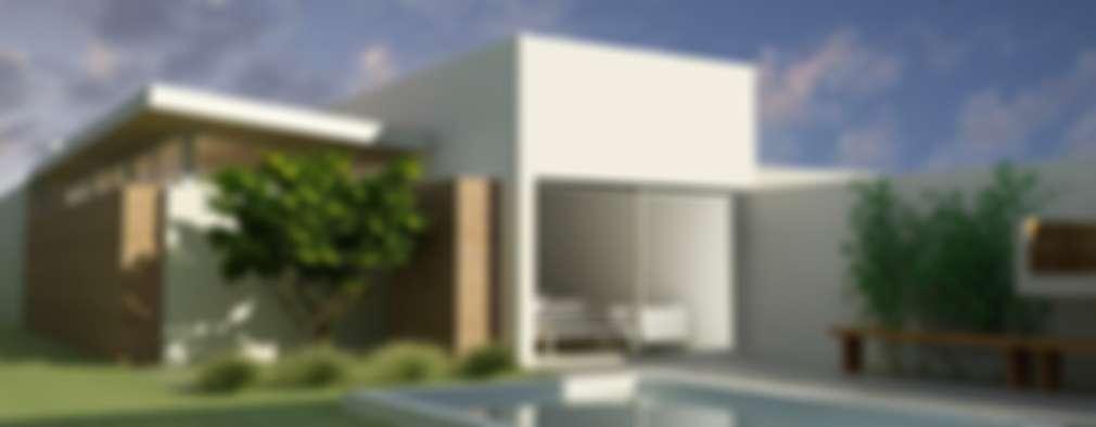 CASA UNO (2012): Casas de estilo minimalista por unoenseis Estudio