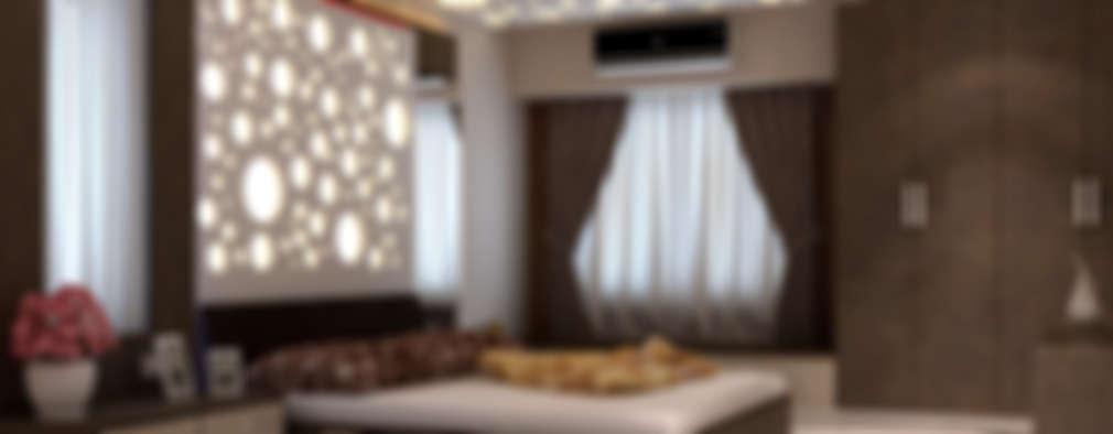 Room 1, View 1: modern Bedroom by Ankit Goenka