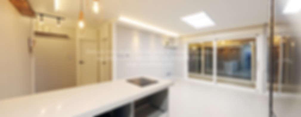 촌스러운 체리색 몰딩 탈출, 트렌디하게 꾸민 군포의 30평 아파트