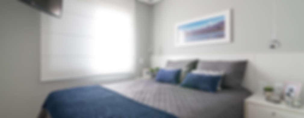 Dormitorios de estilo moderno por Danyela Corrêa Arquitetura