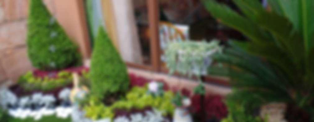 paisajismo . muros verdes jardines. : Jardines de estilo moderno por 3HOUS