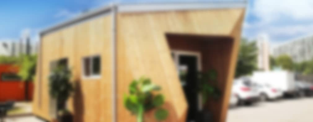 Casas de estilo moderno por 공간제작소(주)