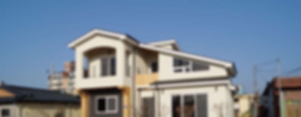 밀양 가곡동 목조주택 30평 : 한다움건설의  주택