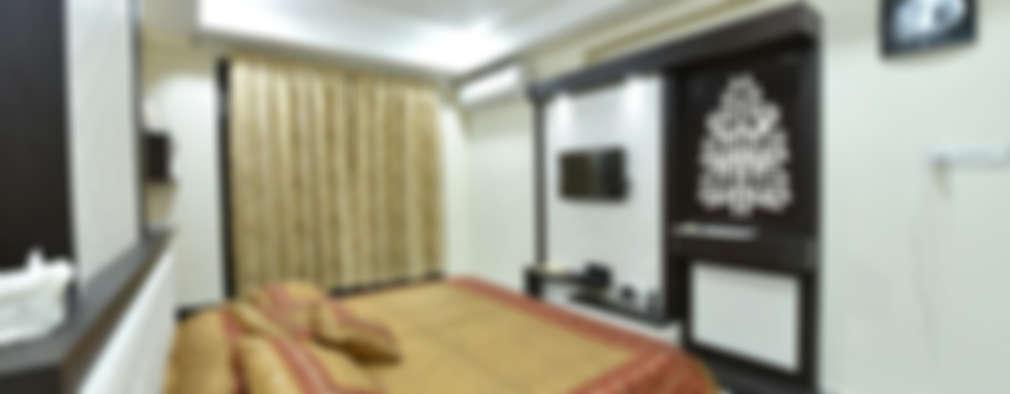 M.M Mehta Ji : modern Bedroom by MAA ARCHITECTS & INTERIOR DESIGNERS