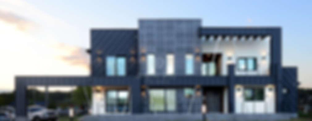 세련된 외관과 넓은 생활공간이 돋보이는 집, 교항리 단독주택
