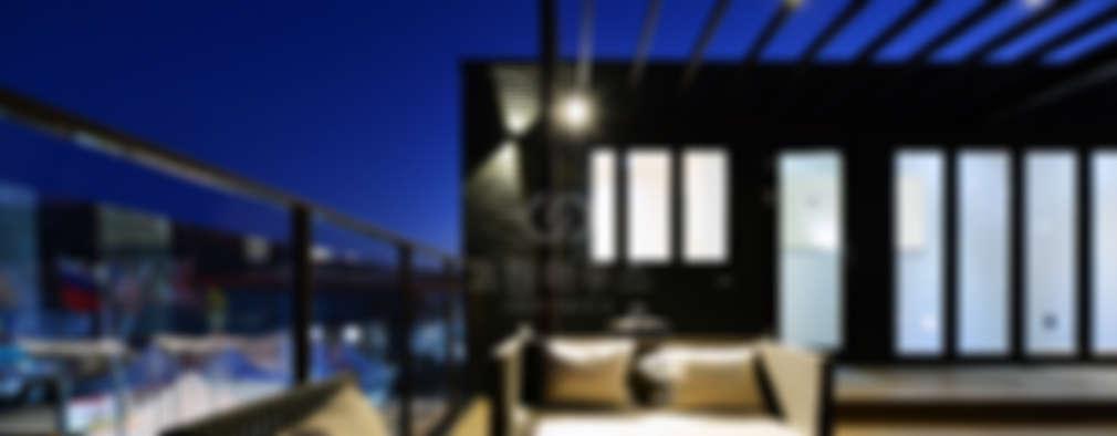 도심 속 저택, 옥상 정원의 꿈을 실현한 고급 단독주택