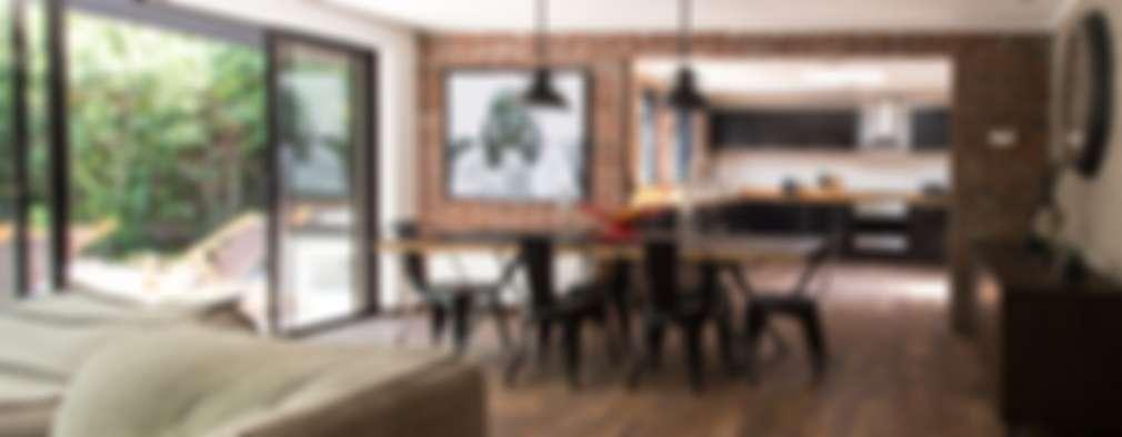 : Comedores de estilo moderno por RENOarq
