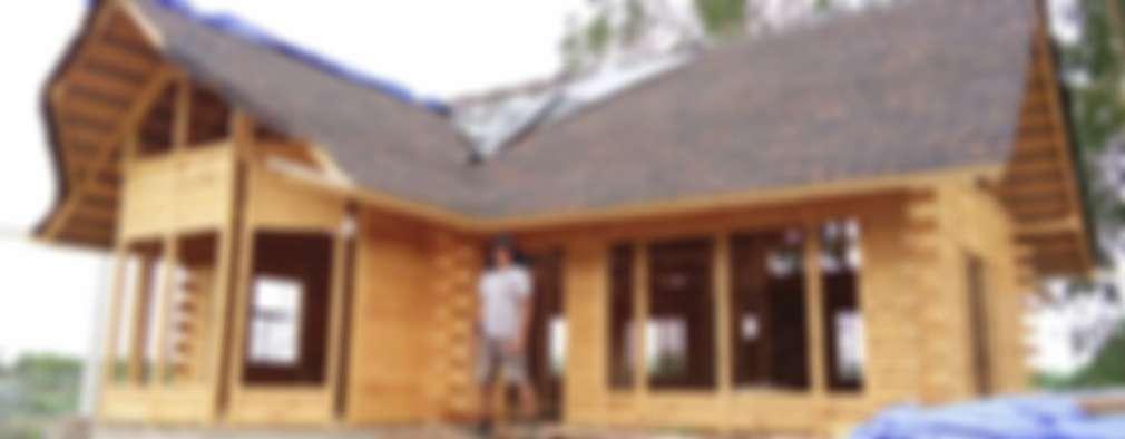 Дома в . Автор – Sukjai Logcabin Partnership