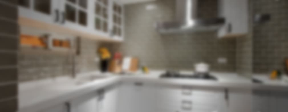 소형 주방을 위한 실용 디자인. L자형 주방 아이디어 10