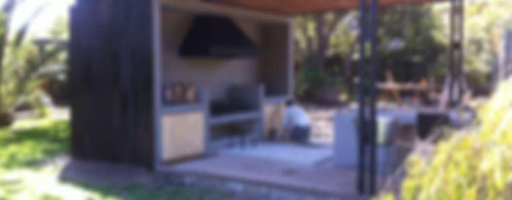 Esta terraza con cocina al aire libre tiene 10 ideas que te van a ...
