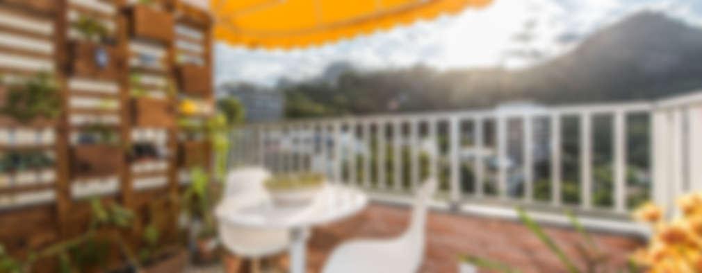 Terrace by Espaço Tania Chueke