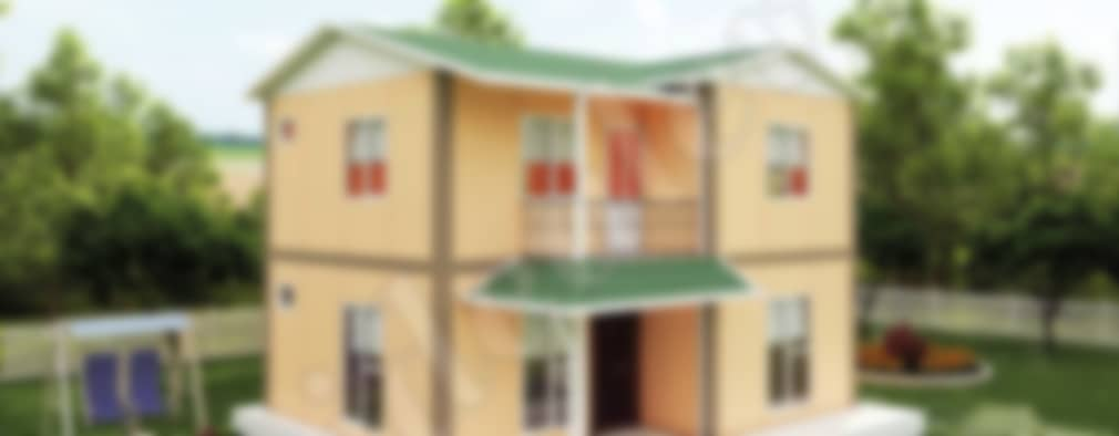 Casas prefabricadas de estilo  por İdeal Ev (Prefabrik Evim)