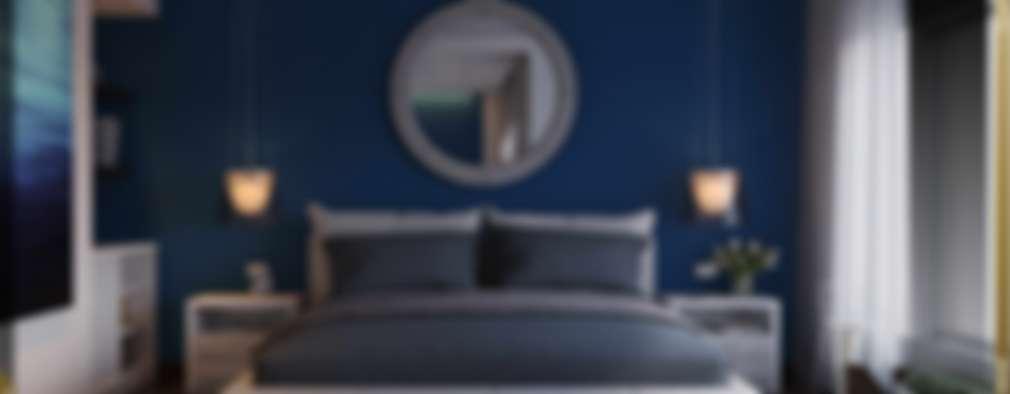 غرفة نوم تنفيذ Ori - Architects