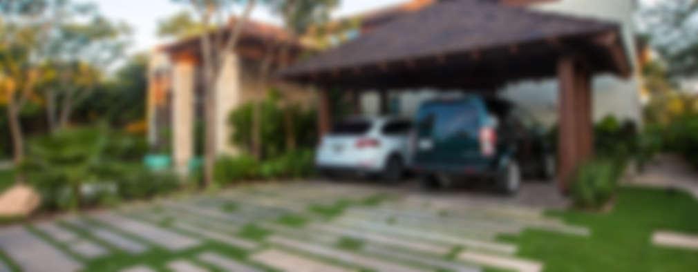 Casa DD: Casas de estilo topical por Ancona + Ancona Arquitectos
