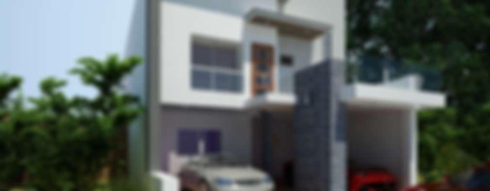RESIDENCIA MISIONES: Casas unifamiliares de estilo  por OLLIN ARQUITECTURA