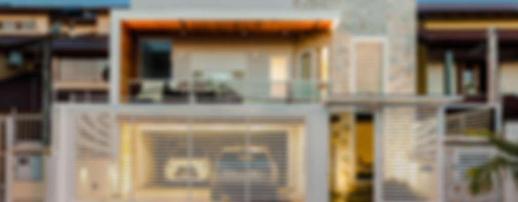 Casas de estilo moderno por RHAJA ARQUITETURA