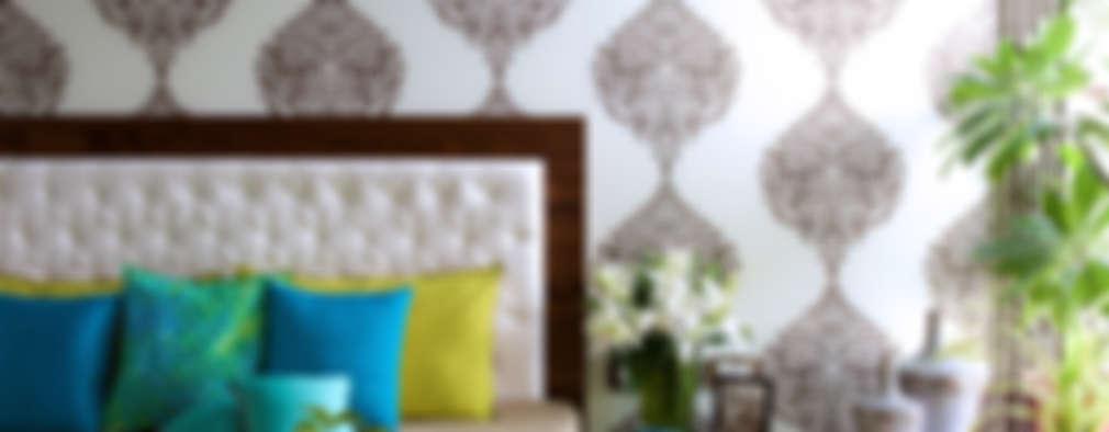 mothers bedroom: modern Bedroom by ZERO9