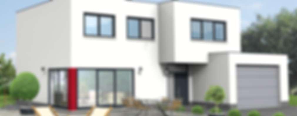 21 moderne Familienhäuser im Grünen